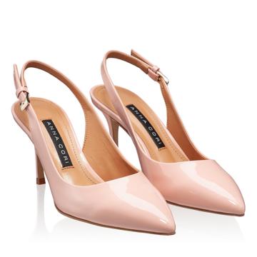 Pantofi Decupati Dama 5728 Lac Pink