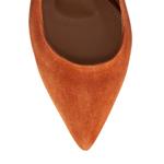 Imagine Pantofi Decupati Dama 5907 Camoscio Cuoio