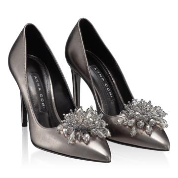 Pantofi Eleganti Dama 5623 Laminato C.Fucile
