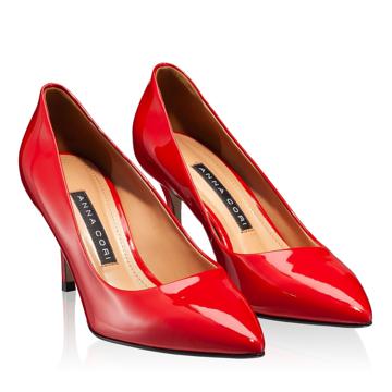 Pantofi Eleganti Dama  4416 Lac Rosu