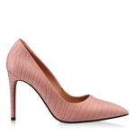 Imagine Pantofi Eleganti Dama 4332 Croco Pink Sand
