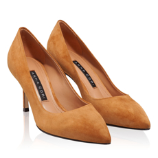 Pantofi eleganti dama 4416 Camoscio Cuoio