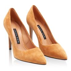 Pantofi Eleganti Dama 4332 Camoscio Cuoio