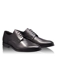 Pantofi Eleganti Barbati 6675 Vitello Nero