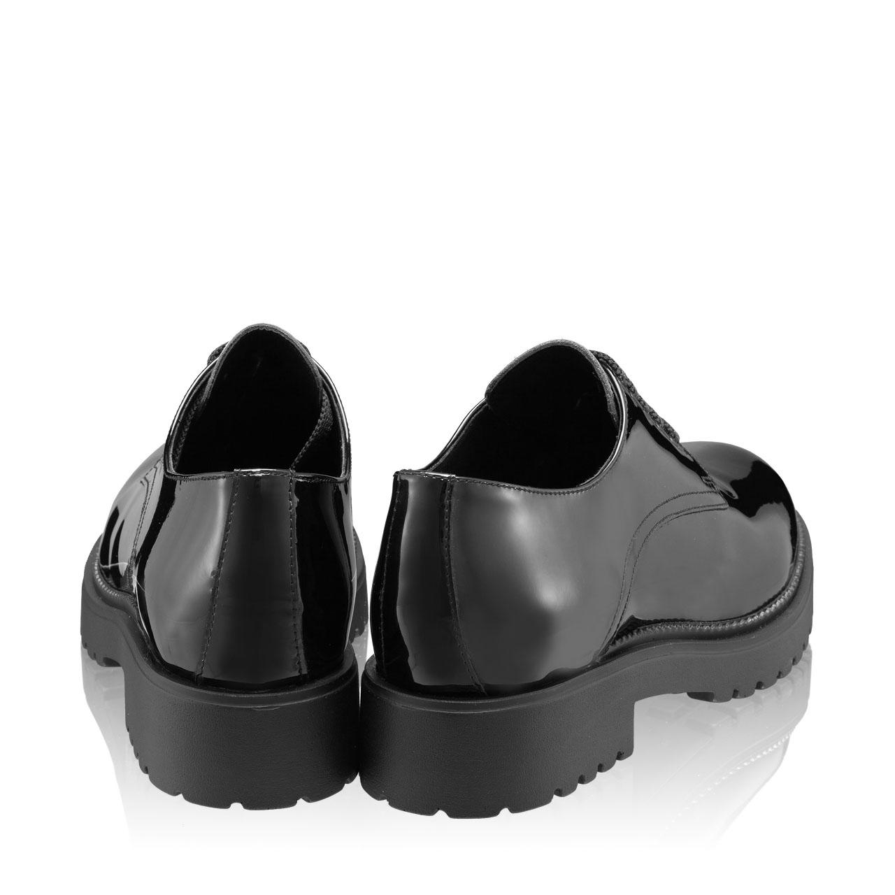 Imagine Pantofi Casual Dama 7144 Vernice Negru