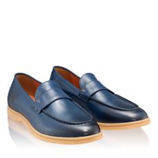 Pantofi Casual Barbati 6991 Vitello Blue