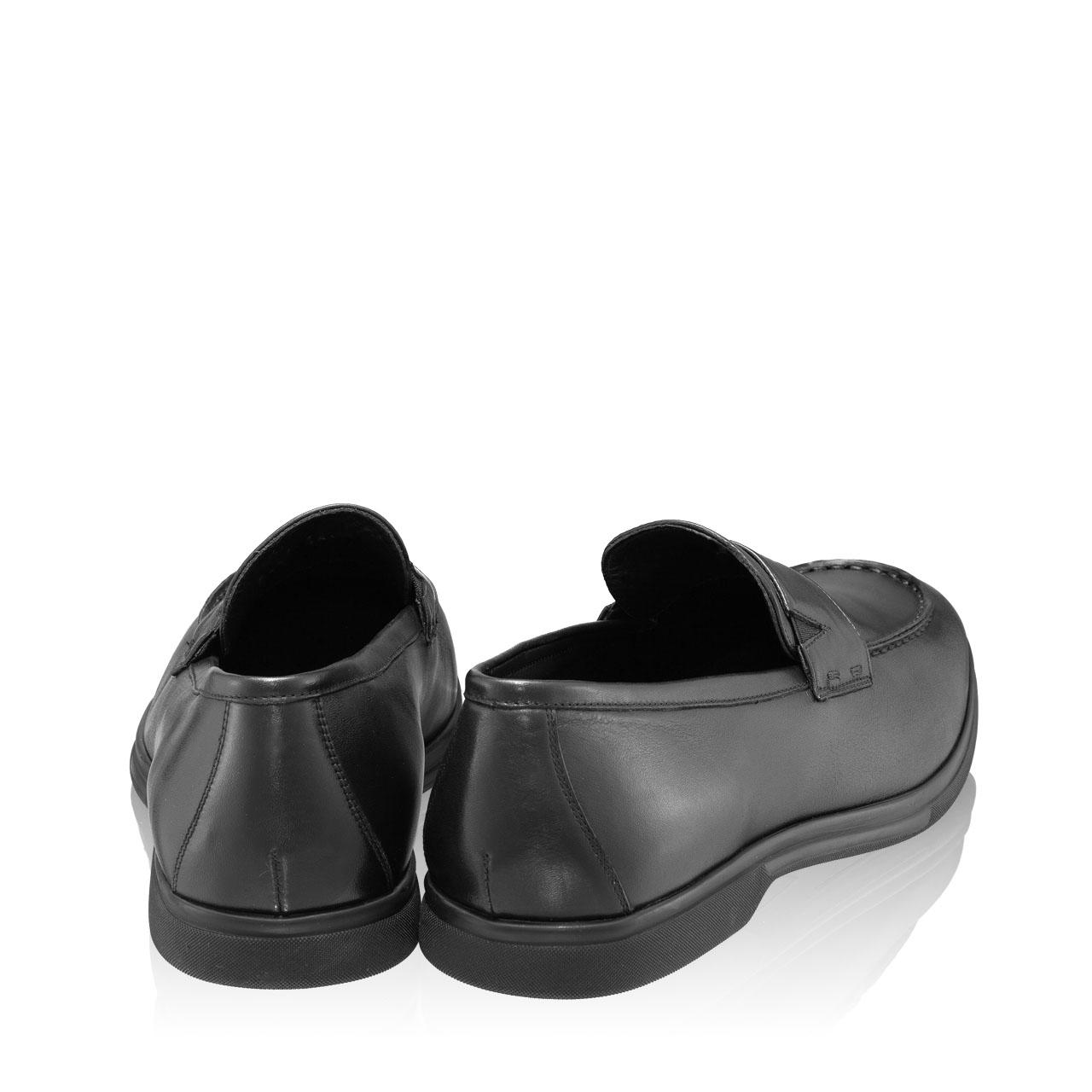 Imagine Pantofi Casual Barbati 6991 Vitello Negru