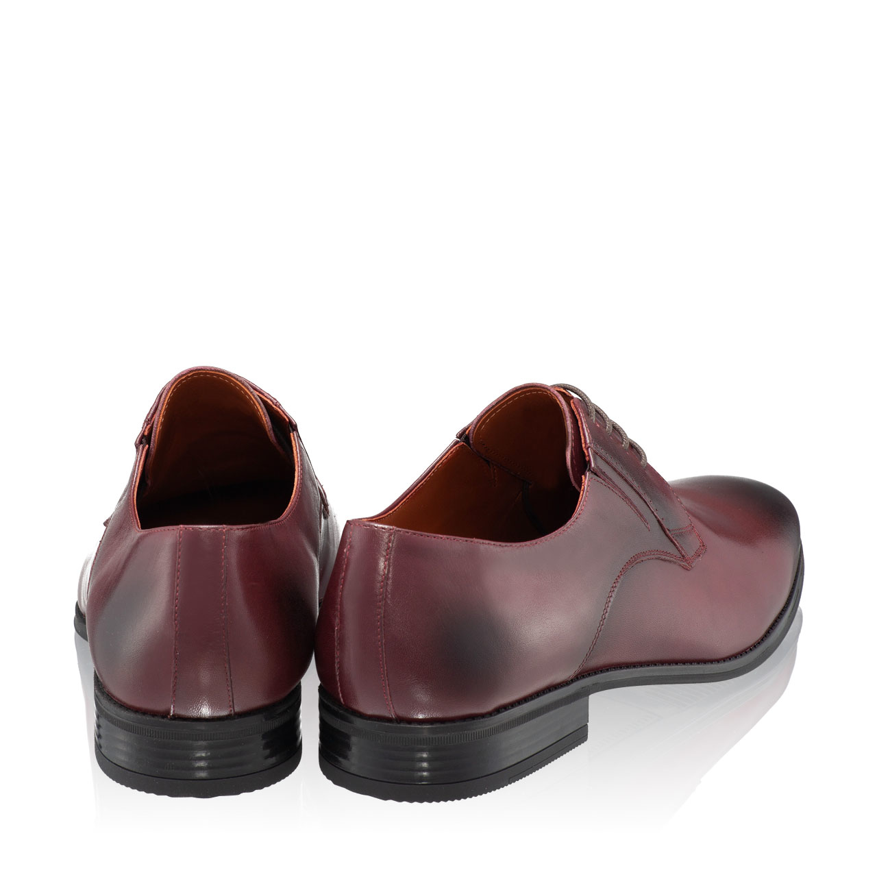 Imagine Pantofi Eleganti Barbati 6851 Vitello Bordo