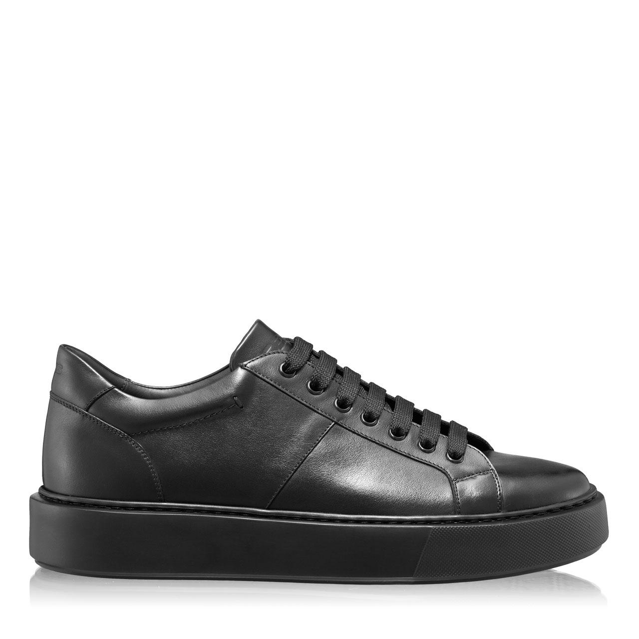 Imagine Pantofi Sport Barbati 6897 Vitello Negru/Negru