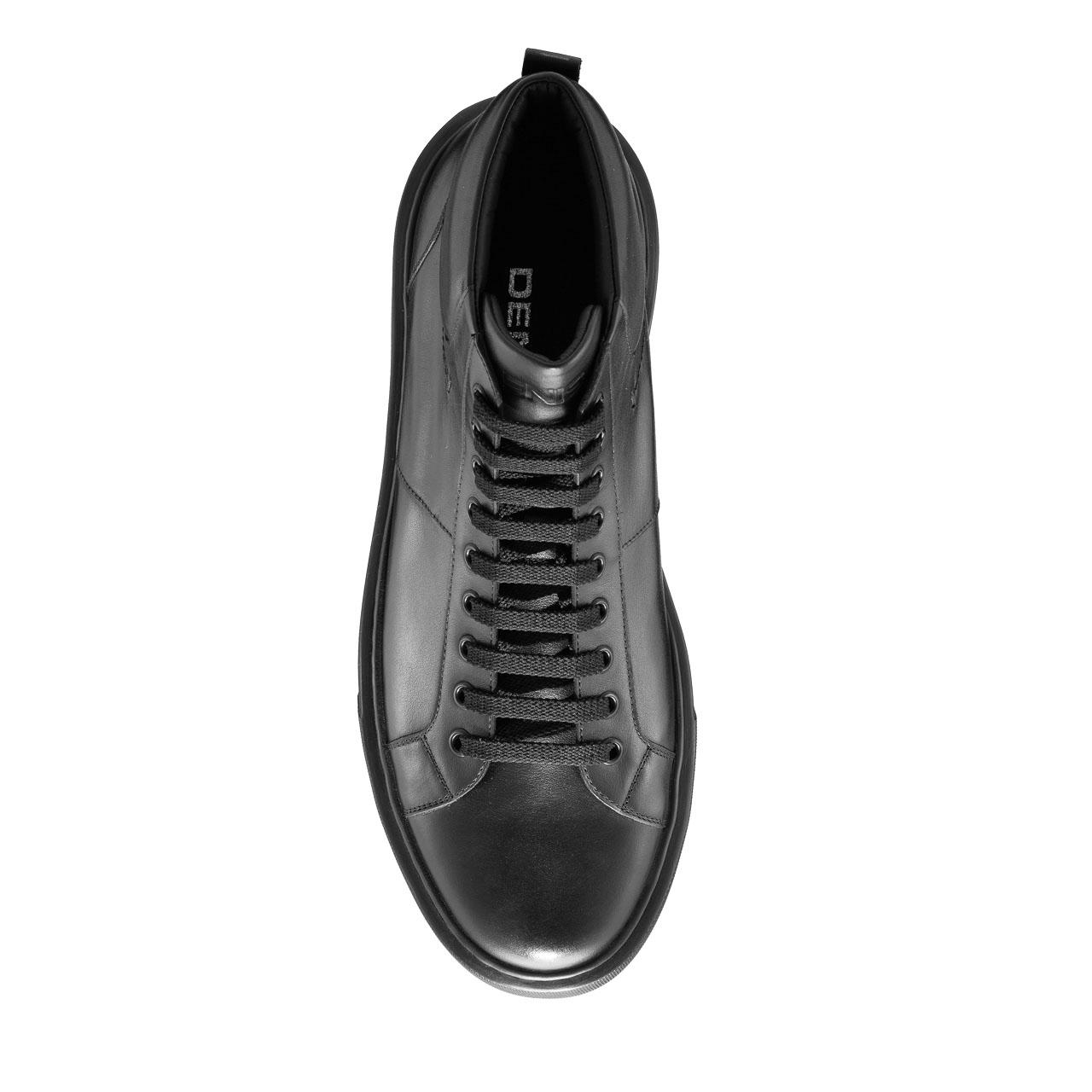 Imagine Pantofi Sport Barbati 6898 Vitello Negru