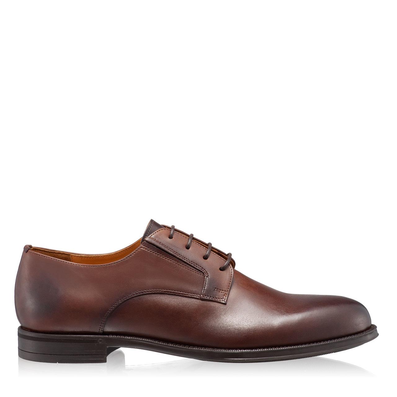 Imagine Pantofi Eleganti Barbati 7011 Vitello Maro