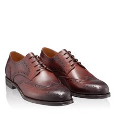 Pantofi Eleganti Barbati 7020 Vitello Maro