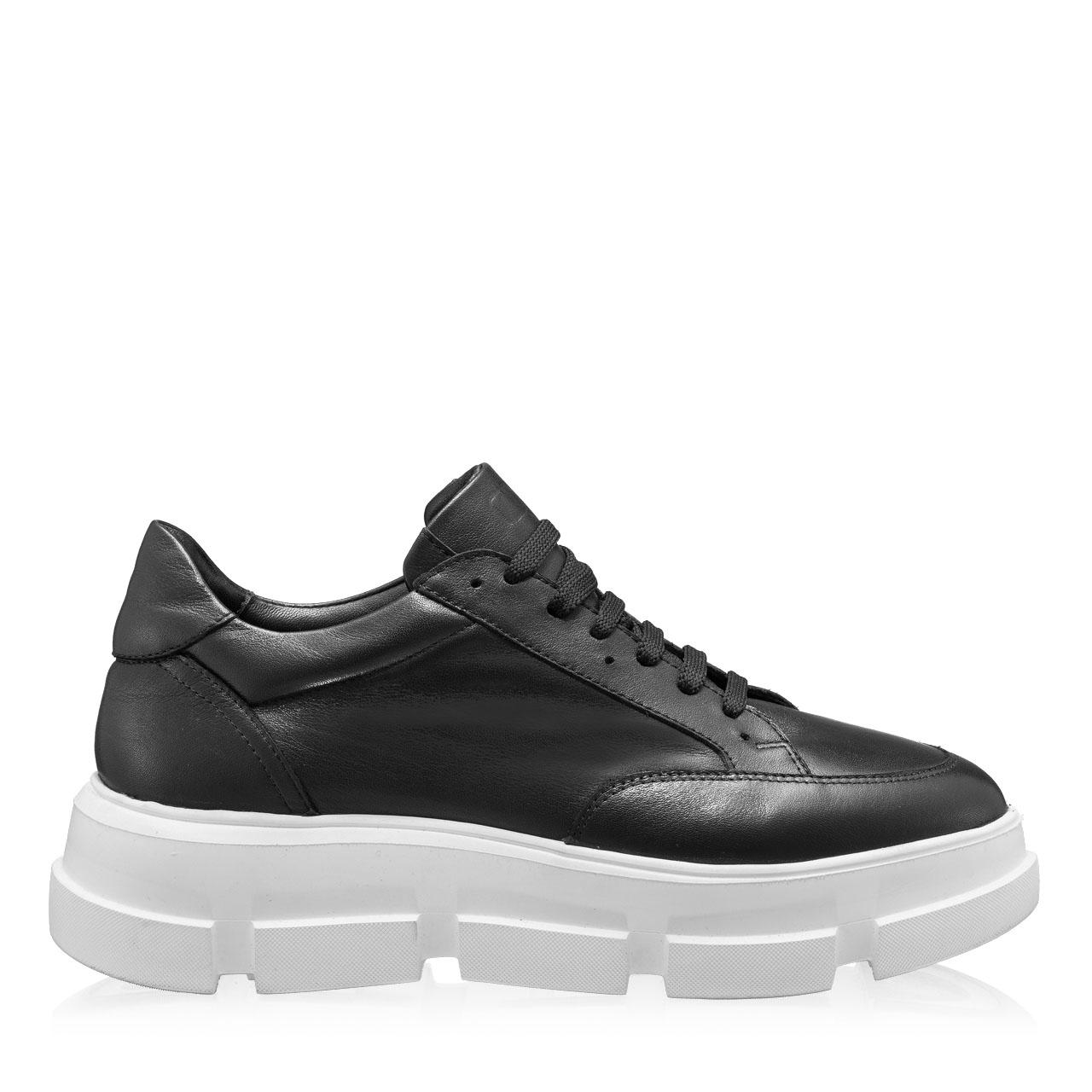 Imagine Pantofi Sport Dama 7174 Vitello Negru