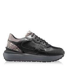 Imagine Pantofi Sport Dama 5900 Vitello Negru+Zebra