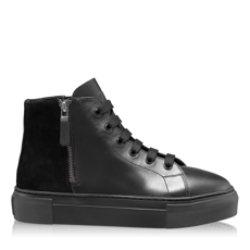 Imagine Pantofi Sport Dama 7168 Vitello Negru