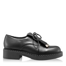 Imagine Pantofi Casual Dama 7165 Vitello Negru