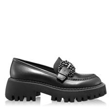 Imagine Pantofi Casual Dama 7156 Vitello Negru