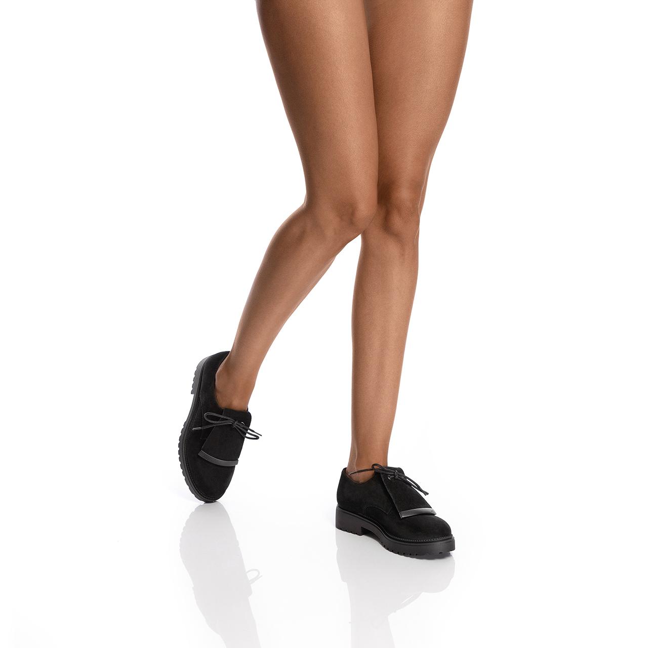 Imagine Pantofi Casual Dama 7169 Crosta Negru