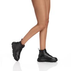 Pantofi Sport Dama 7175 Vitello Negru