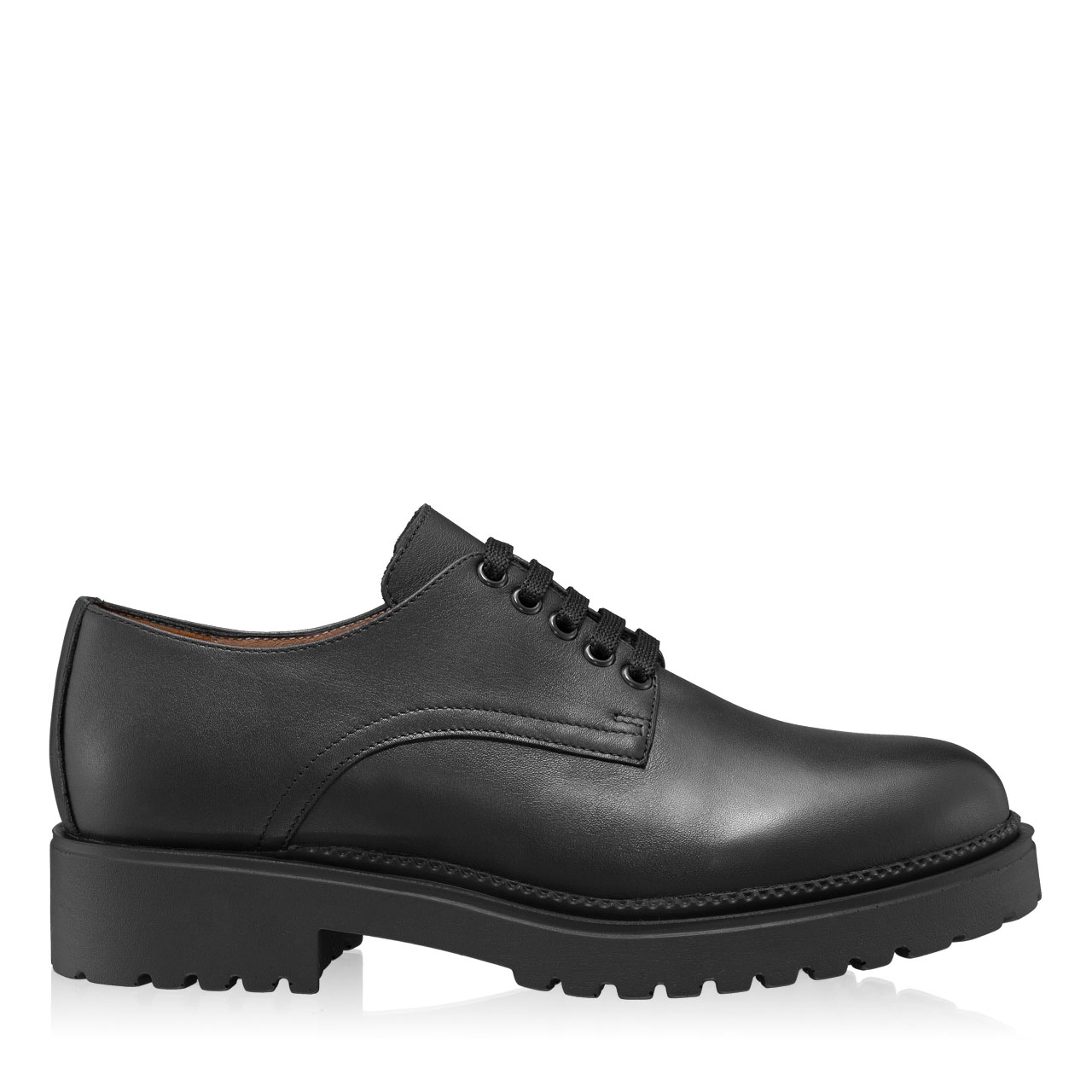 Imagine Pantofi Casual Dama 7144 Vitello Negru