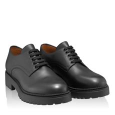 Pantofi Casual Dama 7144 Vitello Negru