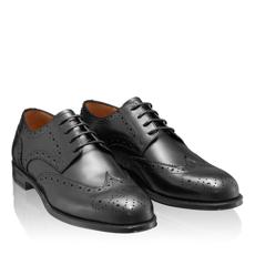 Pantofi Eleganti Barbati 7020 Vitello Negru