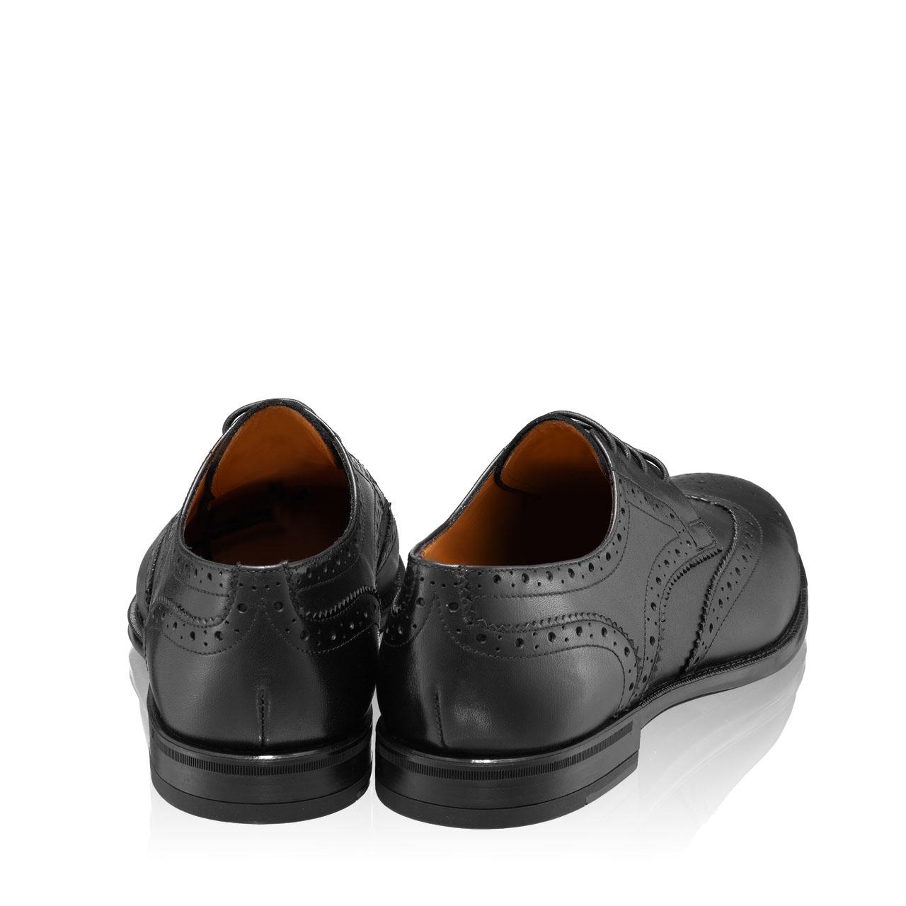 Imagine Pantofi Eleganti Barbati 7020 Vitello Negru