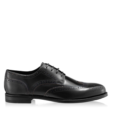 Imagine Pantofi Eleganti Barbati 7020 Abrazivato Negru