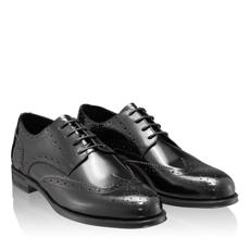 Pantofi Eleganti Barbati 7020 Abrazivato Negru