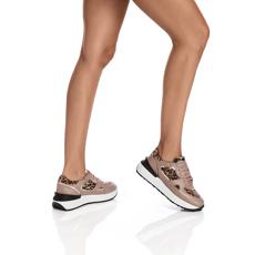 Pantofi Sport Dama 5900 Vitello Poudre-Cavalino