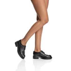Pantofi Casual Dama 7158 Vitello Negru