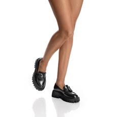 Pantofi Casual Dama 7156 Vitello Negru