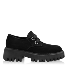 Imagine Pantofi Casual Dama 7155 Crosta Negru